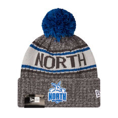 North Melbourne Kangaroos New Era 6 Dart Cuff Beanie, , rebel_hi-res