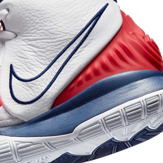 Nike Kyrie VI Mens Basketball Shoes, White, rebel_hi-res
