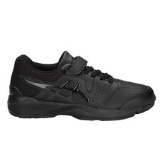 Asics Gel Quest Kids Training Shoes Black US 11, Black, rebel_hi-res