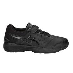 Asics Gel Quest Kids Training Shoes Black US 11, Black, rebel_hi-res