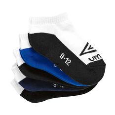 Umbro Kids Low Cut Socks Assorted S, Assorted, rebel_hi-res