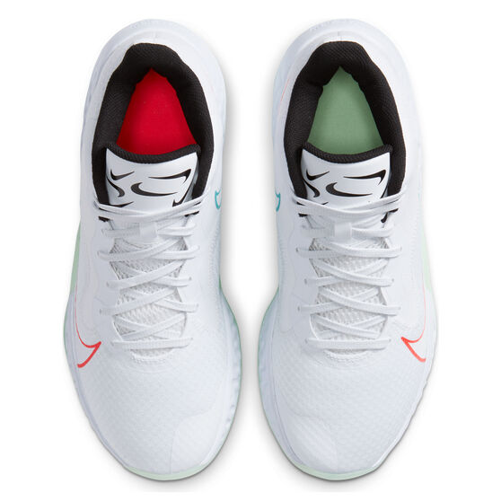 Nike Renew Elevate Mens Basketball Shoes White/Black US 10.5, White/Black, rebel_hi-res
