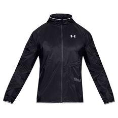 Under Armour Mens Storm Qualifier Packable Jacket Black S 4564f2fbb