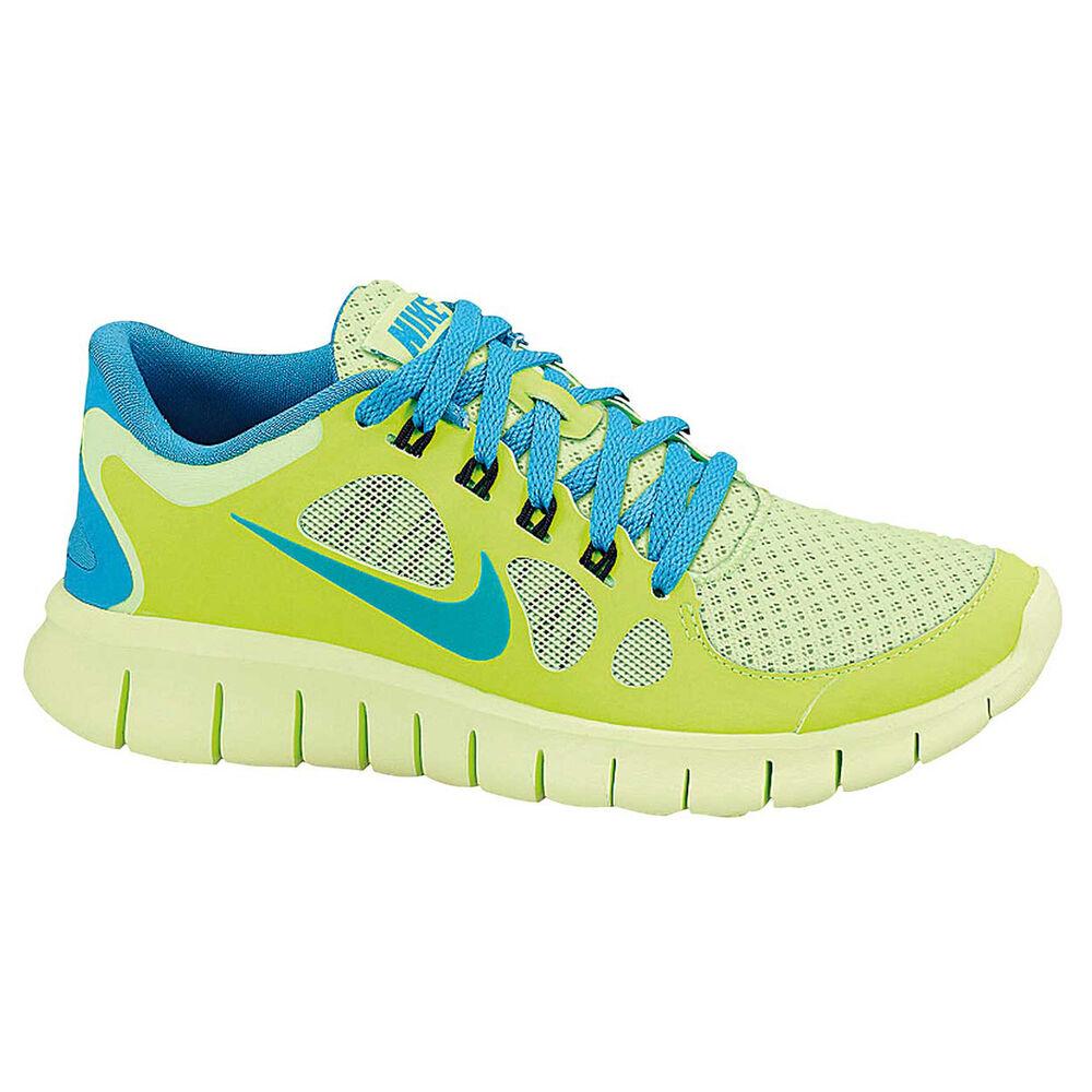 cheap for discount 06855 41883 Nike Free Run 5.0 Boys Running Shoes Green US 5, Green, rebel hi-res