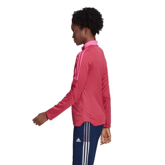 adidas Womens Tiro 21 Track Jacket, Pink, rebel_hi-res