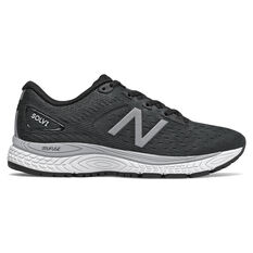 New Balance Solvi D Womens Running Shoes Black/White US 6, Black/White, rebel_hi-res
