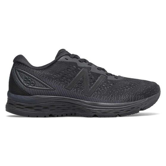 New Balance 880v9 D Womens Running Shoes, Black, rebel_hi-res