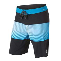 Quiksilver Mens Highline Slab 20in Board Shorts Black 30, Black, rebel_hi-res
