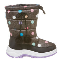Tahwalhi Wizard Kids Snow Boots Grey / Multi 11, Grey / Multi, rebel_hi-res