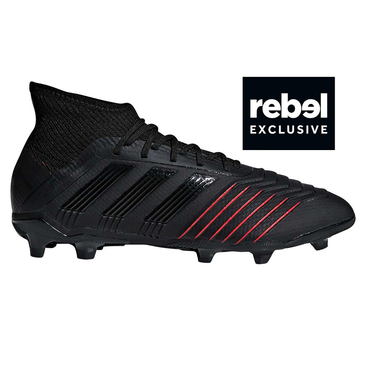 c4ac140e france adidas predator 19.1 kids football boots black red us 11 black red  93347 be9ba