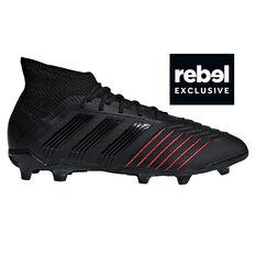 adidas Predator 19.1 Kids Football Boots Black   Red US 11 0c5995ff7e