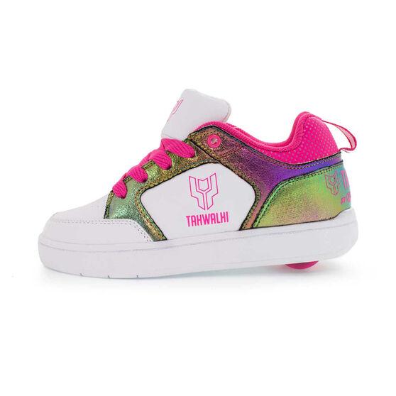Tahwalhi Lo Top Shoes, White / Berry, rebel_hi-res