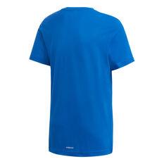 adidas Boys Aeroready Prime Tee Blue/White 6, Blue/White, rebel_hi-res