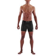 SKINS Mens Series 1 Compression Shorts Black S, Black, rebel_hi-res