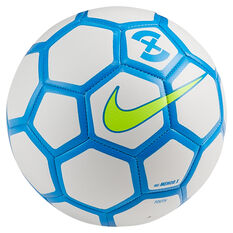 Nike Menor X Soccer Ball White / Blue Youth, White / Blue, rebel_hi-res
