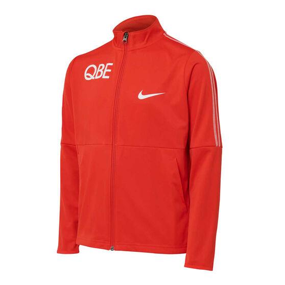 Sydney Swans 2021 Mens Kids Jacket, Red, rebel_hi-res