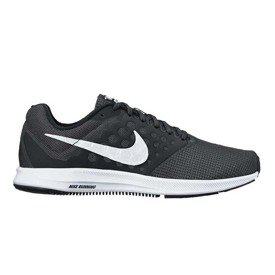 huge discount 6a2e7 37102 Nike Downshifter 7 Mens Running Shoes Black  White US 7, Black  White,