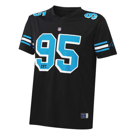 Carolina Panthers Poly Mesh Tee, , rebel_hi-res