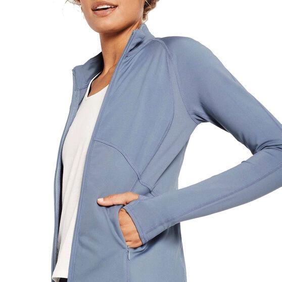 Nimble Womens Extend Jacket, Blue, rebel_hi-res