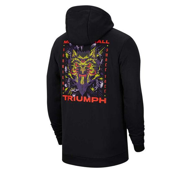 Nike Mens Therma Full Zip Training Hoodie, Black, rebel_hi-res