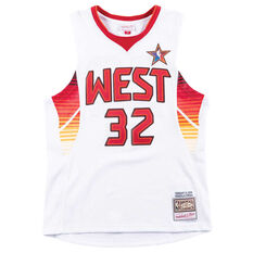 NBA All-Stars West 2009 Shaquille O Neal Swingman Jersey White   Red S ... 9826c93df