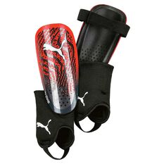 Puma One 17.3 Shin Guards Red / Black S, Red / Black, rebel_hi-res
