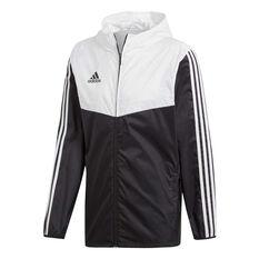 adidas Mens Tiro Windbreaker Jacket Black XS, Black, rebel_hi-res