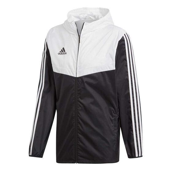 adidas Mens Tiro Windbreaker Jacket, Black, rebel_hi-res
