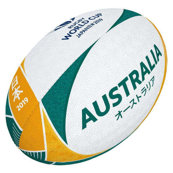 Gilbert Rugby World Cup 2019 Australia Supporter Rugby Ball, , rebel_hi-res