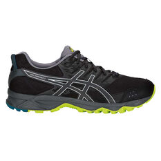 Asics GEL Sonoma 3 Mens Trail Running Shoes Black / Lime US 7, Black / Lime, rebel_hi-res
