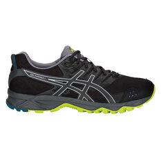 Asics GEL Sonoma 3 Mens Trail Running Shoes Black / Lime US 8, Black / Lime, rebel_hi-res