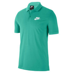 Nike Mens Sportswear Matchup Polo Green S, Green, rebel_hi-res