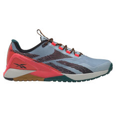 Reebok Nano X1 Adventure Mens Training Shoes Grey/Black US 7, Grey/Black, rebel_hi-res