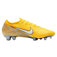 Nike Mercurial Vapor 12 Elite Neymar Jr Mens Football Boots Yellow / White US 7, , rebel_hi-res
