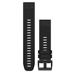 Garmin Fenix 5 QuickFit Silicone Band Black 22mm, , rebel_hi-res