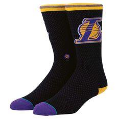 Stance Mens Los Angeles Lakers Jersey Sock, , rebel_hi-res