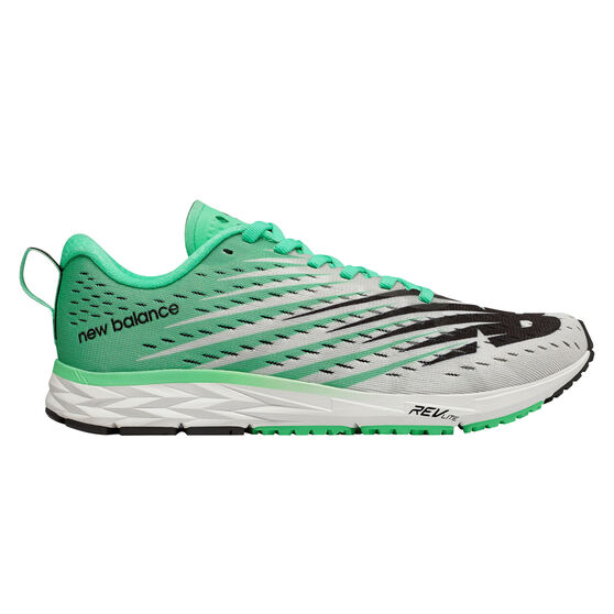 New Balance 1500v5 Womens Running Shoes, Green / White, rebel_hi-res