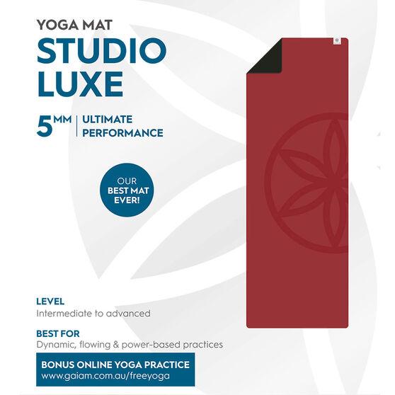 Gaiam Studio Luxe Yoga Mat 5mm, , rebel_hi-res