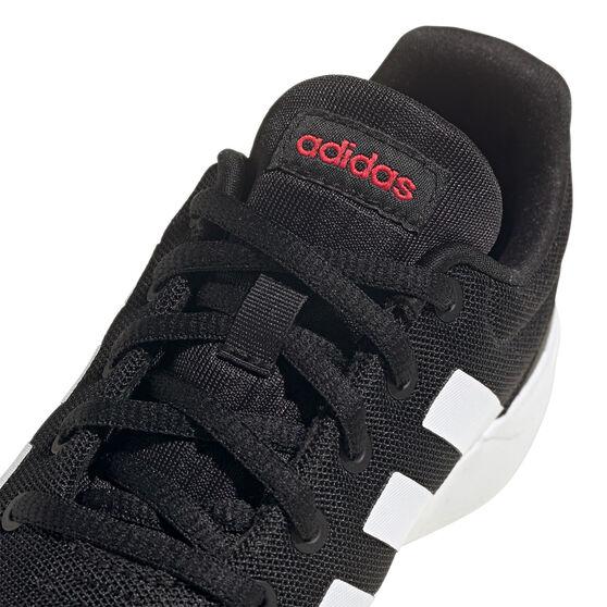 adidas Lite Racer CLN 2.0 Kids Casual Shoes, Black/White, rebel_hi-res