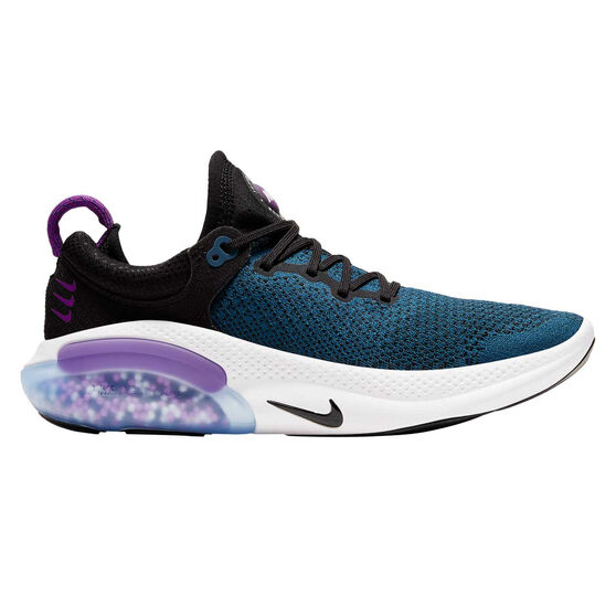 Nike Joyride Womens Running Shoes, Black / Purple, rebel_hi-res