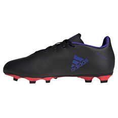 adidas X Speedflow .4 Football Boots Black/Pink US Mens 4 / Womens 5, Black/Pink, rebel_hi-res