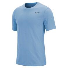 Nike Mens Legend Dri-FIT Training Tee Blue S, Blue, rebel_hi-res