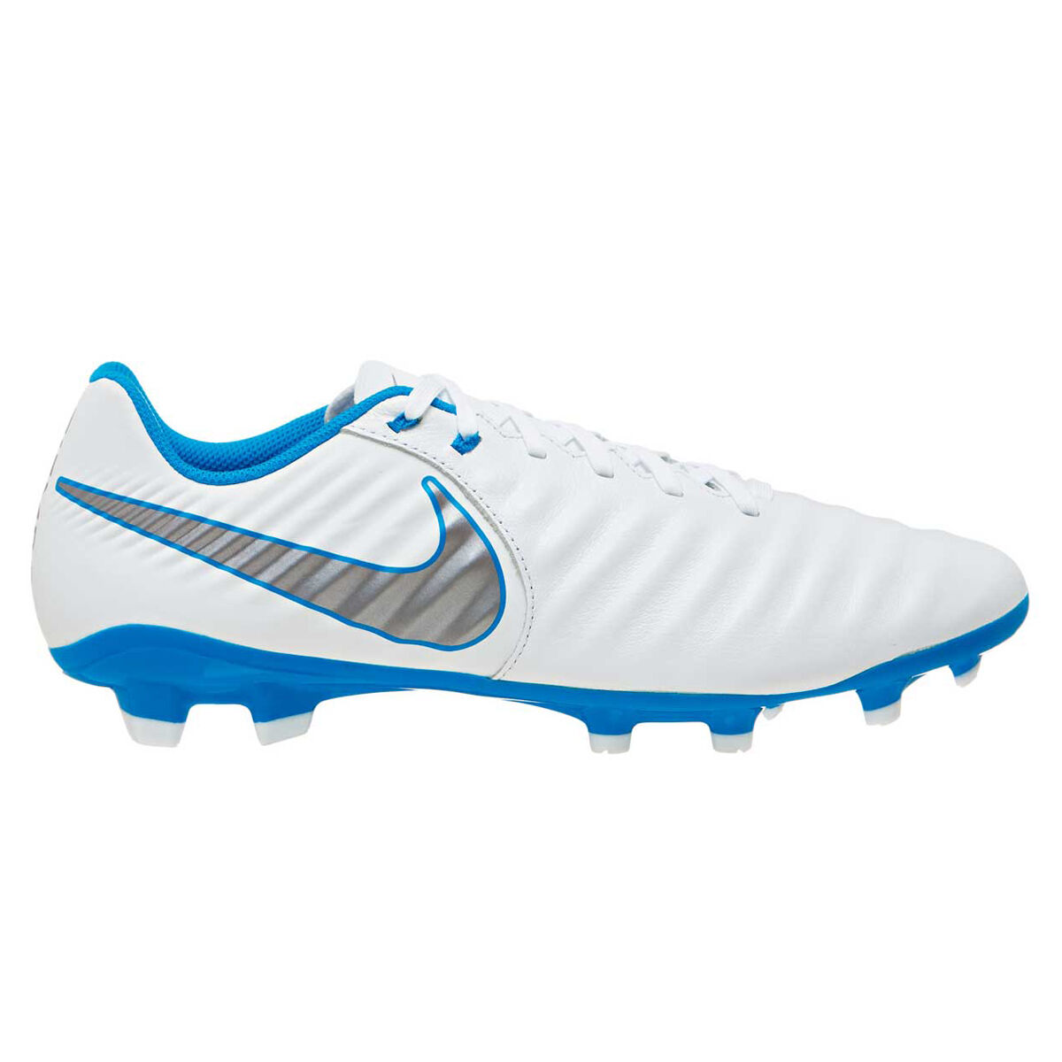 77b172b87052 ... official nike tiempo legend vii academy mens football boots white grey  us 12 white b651e 8bf0f