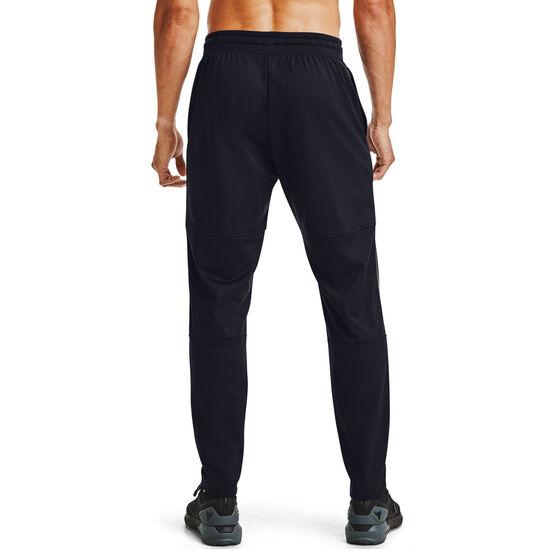 Under Armour Mens Project Rock Knit Track Pants, Black, rebel_hi-res