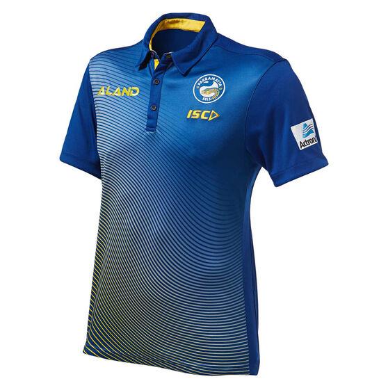 Parramatta Eels 2019 Mens Sub Polo, Blue, rebel_hi-res