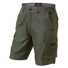Quiksilver Mens Rogue Surfwash 20in Amphibian Walk Shorts Khaki 30, Khaki, rebel_hi-res