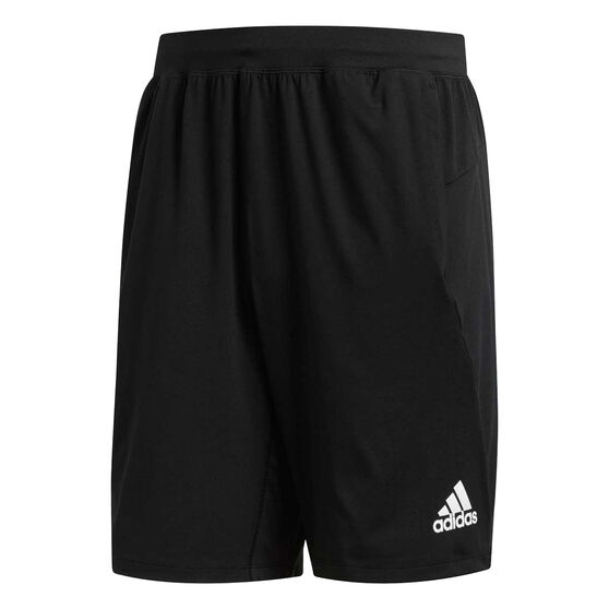 adidas Mens 4KRFT Prime Training Shorts, Black, rebel_hi-res
