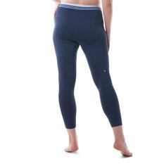 Ell & Voo Womens Rosalie 7/8 Tights Blue XL, Blue, rebel_hi-res