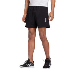 adidas Mens Essential Chelsea Shorts, Black / White, rebel_hi-res
