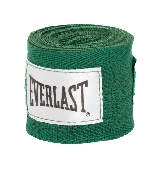 Everlast 108in Hand Wraps Green, , rebel_hi-res